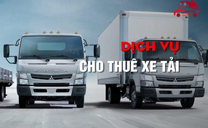 Cho thuê xe tải | Dịch Vụ Dọn Nhà 247