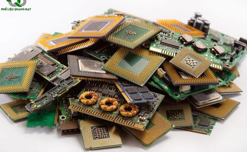 Phế Liệu Quang Đạt – Chuyên thu mua phế liệu linh kiện điện tử tại Quận 7